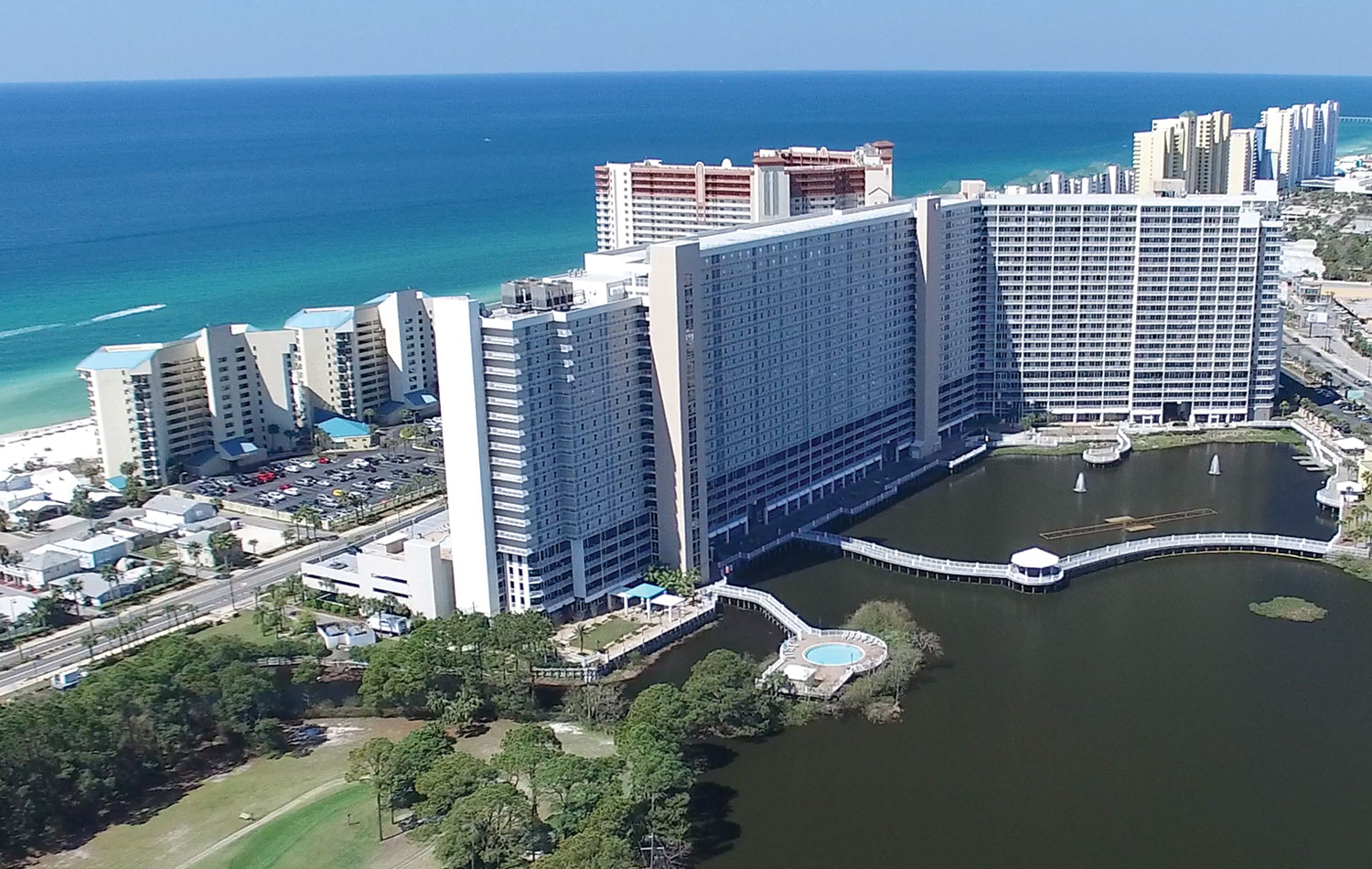 Laketown Wharf on Panama City Beach | Emerald View Resorts Vacations