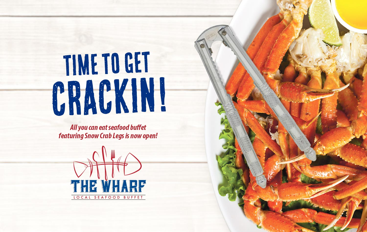 The Wharf Seafood Buffet | Laketown Wharf | Panama City Beach